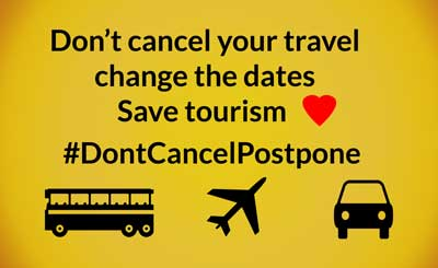 postpone travel small